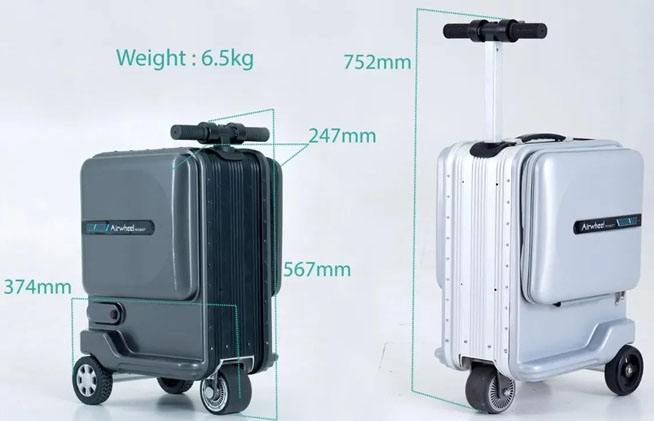 Airwheel SE3mini Scooter luggage