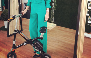 Airwheel E6 electric bike in bagpack