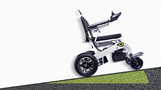 foldable electric wheelchair